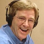 Rick in headphones